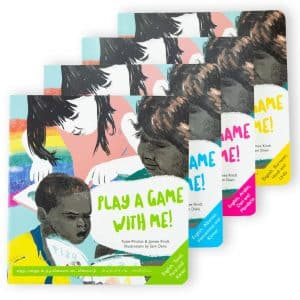 Play A Game With Me Book by Katie Pinchas & Jaimee Kindt